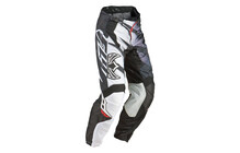 Fly Racing Kinetic Inversion Pantalon homme blanc/noir